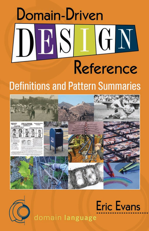 Front Cover - Domain-Driven Design Reference Book